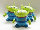 Inflatable Colorful Wholesale Small PVC Plastic Alien Kids Children Toy