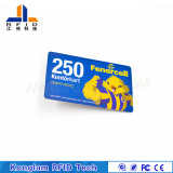 Customized Coated Paper Silk Screen Smart Card for Unit Attendance