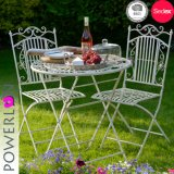 Lovey Antirust Foldable Outdoor Bistro Set Table and Chair Set