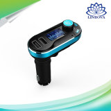 Bt66 Smart Car Charger Bluetooth Car Kit FM Transmitter Hands-Free Calls with Remote Control