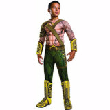Child Aquaman Deluxe Muscle Chest Justice League Costume