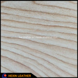 Synthetic Wood Grain PU Leather for Cases Hx-W1701
