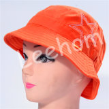 (LB15003) Fahison Print Bucket Hat for Girl