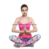 Exercise Sexy Compression Top Fitness Yoga Gym Wear for Sports