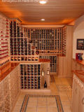 Customize Luxury Wooden Wine Cellar for Home Furniture