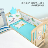 High Quality White Color Customized Multifunctional Crib Baby Bed Cot Bed /Baby Crib Bedding Set