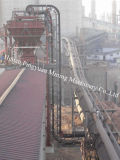 Steeply Inclined Belt Conveyor for Bulk Material (DJ)