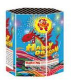 7 Shot Hexagon Cake Fireworks Happy Dragon Small Cake Fireworks