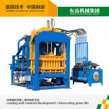 Qt4-15b Interlocking Brick Machine, Paver Making Machine, Hollow Brick Machine