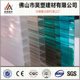 100% Bayer Materials Brown Twin-Wall Polycarbonate Hollow Sheet for Awning
