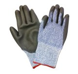 DMF Free PU Coated Cut Resistant Work Glove