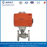 Dn50 Explosion-Proof Electric Ball Valve with Local Controller