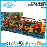 Commercial Shop Mall Customized Size and Plastic Playground Material Playground for Kids