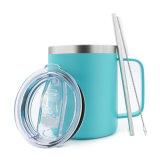 14oz Stainless Steel Vacuum Thermo Insulated Beer Travel Mug with Logo and Lid, New Beeg Mug, Custom Coffee Mug