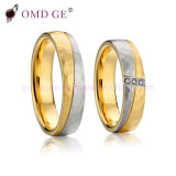 Fashion Stainless Steel Wedding Bands Couple Rings