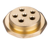 Brass Flange for Water Heating Element