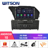 Witson Quad-Core Android 10 Car Radio for Mercedes-Benz Glk (2008-2010) /Glk X204/Glk 300/Glk 350 2g DDR3 RAM Memory