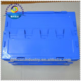 Space Efficient Folded Plastic Turnover Case
