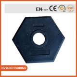 Safety Traffic Rubber Roof Support Feet Products