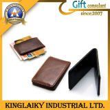 Customized Leather Made Money Clip for Souvenir (KMC-001)