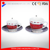 Coffee Cups & Saucers with Printing