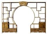 Antique Furniture Wooden Carved Display Shelf Lwa487