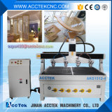 Woodworking Machinery/CNC Router with 4 Spindles for Wood Door Making Akg1215-4
