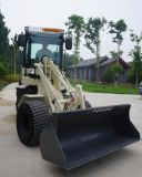 Small Backhoe Loader 0.8ton Mini Wheel Excavator with Ce