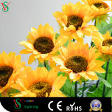 Wholesale Cheap Artificial Sunflower Light for Decorative