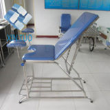 Factory Wholesale Multifunctional Electric Hospital Examination Table Bed with Cushion