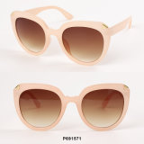 New Fashion Oversized Sunglasses with Metal Deco