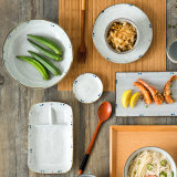 Campanula Reduction Flame Glaze Dinner Set Dinnerware