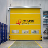 Plastic Fast Rolling up High Speed Shutter Door