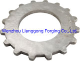 Customized Carbon/Alloy Steel Forging Excavator Drive Sprocket in Construction Machinery