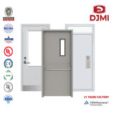 BS Metal Fire UL Wooden Fireproof Steel Emergency Exit Escape CE Fire Rated Metal Security Door Saso Saber Iron Entrance Hotel Hospital School Fire Wood Door
