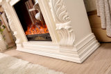 Ce Approved sculpture Wood Home Furniture Electric Fireplace (327B)