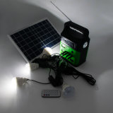 2019 New Solar Light Kit Solar Panel Light with FM Radio Speaker Build-in Solar System