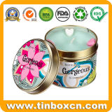 5.5oz Candle Tin Box Round for Travel Can Packaging