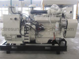 40kVA~1100kVA CCS Certified Cummins Marine Diesel Generator Set with Heat Exchanger