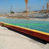 3*12m, 3*14m, 3*16m, 3*18m Electronic Weighing Bridge Truck Scales 60tons to 150tons for Large Truck