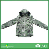 Camouflage Security Military Tactical Outdoor Hoodie Softshell Jacket
