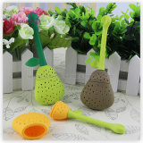Tea Tools Silicone FDA Pear Shaped Tea Strainer Filter 5*2*13.5cm