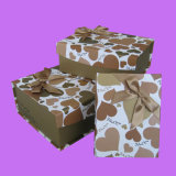 New Fashion Chocolate Cardboard Paper Gift Box with Cheaper Price