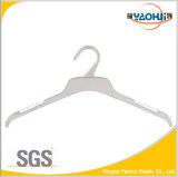 White Plastic Cloth Hanger for Display