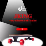 2017 New off Road Electric Skateboard Price Fish Four Wheel Skateboard with Single Belt Motor