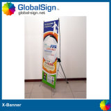 2015 Hot Selling Aluminum X Banner Stands for Sale