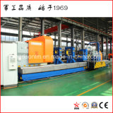 China Professional Horizontal Lathe for Turning Cylinder, Coal Graphite Electrode, Pipe, Roller, Shaft (CG61300)