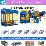Hot Sale Hydraulic Pressure Cement Brick Machine From China