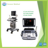 4D Trolley Color Doppler Ultrasound Scanner with Pw and Cw