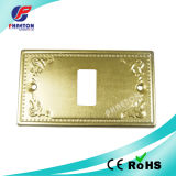 Metal Wall Switch Face Plate 1 Way